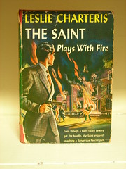 the saint plays with fire (omoo) Tags: newyorkcity houses fiction book interiors rooms apartments westvillage books cover antiques collectibles furnishings greenwichvillage residences thesaint simontemplar lesliecharteris thesaintplayswithfire