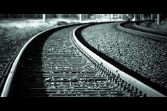 Horizontals: Rails (manganite) Tags: topf25 monochrome