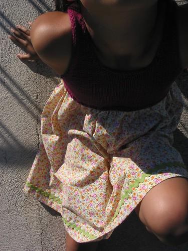 O primeiro vestido