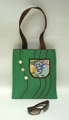 Green Diana Art Bag