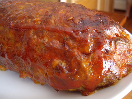 Stuffed Meatloaf - Outside