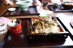 Sansai Soba (japanese noodle with wild plants) (Chakra75) Tags: food eos japanese soba 5d ef2470f28l