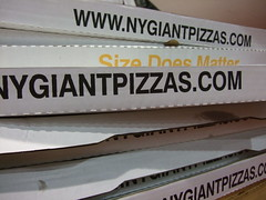 New York Giant Pizzas