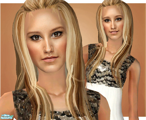 Ashley Tisdale As A Sim! by Amy Loves Nick :D.