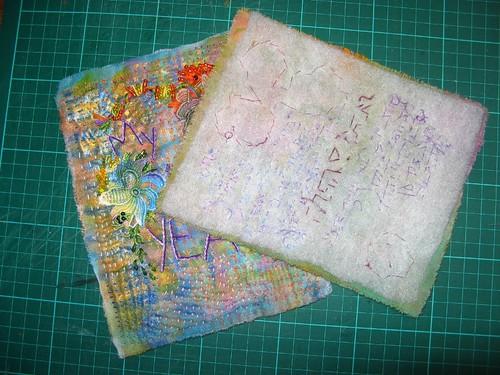 #209/366 fabric book