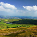 Lancashire landscape - View from Pendle Hill