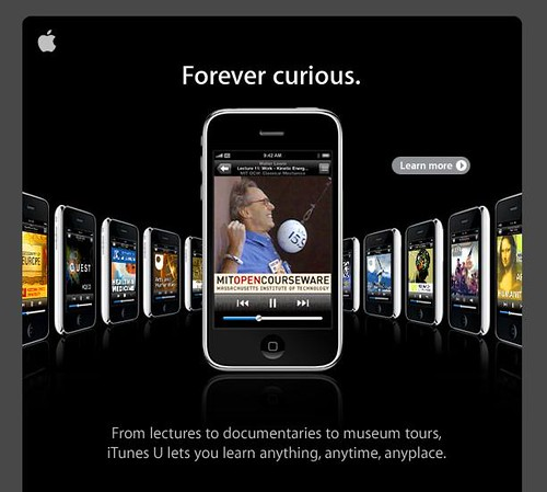 iTunes: Forever curious.