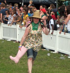 Wellie Wanging Fetcher - Innocent Village Fete 2008