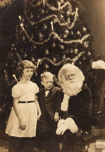 the santa clause bernard fanfiction.  in the special case below, a photograph of his visit with Santa Claus in