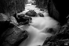 Rosenlaui Canyon II (Monika Ostermann) Tags: bw switzerland canyon blueribbonwinner rosenlaui platinumphoto anawesomeshot blackwhiter blackdiamand reflectyourworld