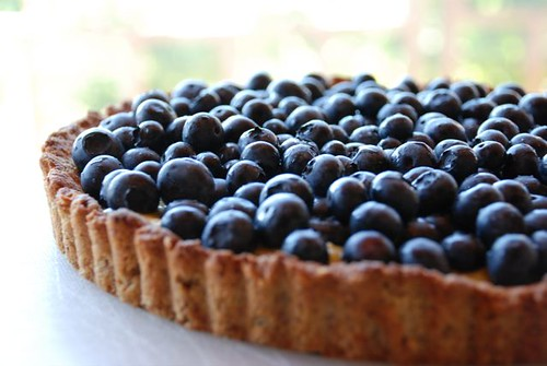 Nina's blueberry tart