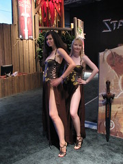 Age of Conan babes on Games Convention 2008 (Sergey Galyonkin) Tags: show girls game booth germany expo models leipzig gaming babes boothbabes 2008 gamesconvention funcom spiele ageofconan