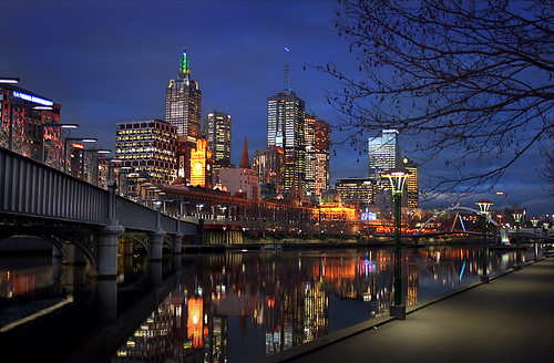 Melbourne twilight by ~wibo~.