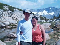 Padraic and I on Vogelsang Pass (jojo_butts) Tags: yosemite joanna vogelsang padraic highsierracamp