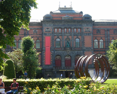 Facade of the Vestlandske Kunstindustrimuseum