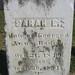 gravestone Sarah Hanson