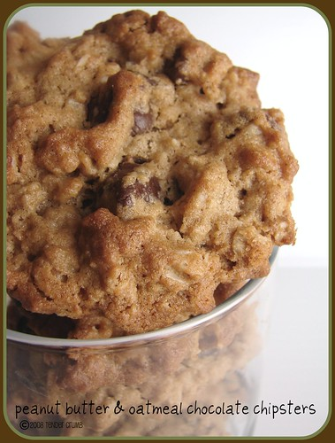 ... CRUMB: Chunky Peanut Butter and Oatmeal Chocolate Chipsters (TWD