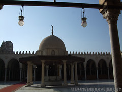 Mosque of Amr ibn al-As, Cairo (Metal Traveller) Tags: egypt mosque cairo amr amribnalas