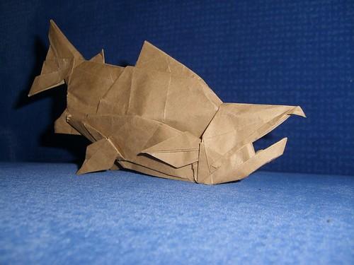 Jeremy Kool | Origami, Paper art, Paper fox | 375x500