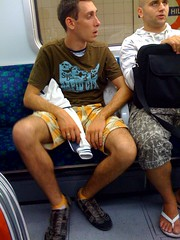 -3 (legsoftheunderground) Tags: hairy man hot guy underground legs candid thigh shorts calf fit calves