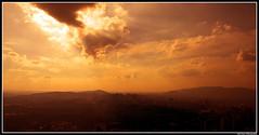 HDRi Rotation of the world (mgzaw) Tags: world sunset red malaysia rotation hdri earthasia