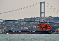 """Torm Laura"", Bosphorus, Istanbul, Turkey, 20 September 2008 (Ivan S. Abrams) Tags: coastguard docks turkey boats nikon mediterranean ataturk ships istanbul getty lighters nikkor shipping tugs straits ports nikondigital blacksea gallipoli ferries harbors watercraft bosphorus tugboats gettyimages vessels freighters tankers harbours cruiseships barges smrgsbord warships destroyers ferryboats navyships speedboats frigates internationaltrade classicboats seaofmarmara navies containerships portcities navalvessels bulkcarriers nikonprofessional chokepoints onlythebestare boatnerd ivansabrams trainplanepro nikond300 shippinglanes internationalshipping sealanes ivanabrams worldwideshipspotters servicecraft gettyimagesandtheflickrcollection feriobots coastalfreighters marinecommerce internationalcommerce maritimecommerce seaportsseaportmaritime crossroadsasiaeuropebosforbogazasia minorboxesintermodal tugobats copyrightivansabramsallrightsreservedunauthorizeduseofthisimageisprohibited tucson3985gmailcom copyrightivansafyanabrams2009allrightsreservedunauthorizeduseprohibitedbylawpropertyofivansafyanabrams unauthorizeduseconstitutestheft thisphotographwasmadebyivansafyanabramswhoretainsallrightstheretoc2009ivansafyanabrams abramsandmcdanielinternationallawandeconomicdiplomacy"