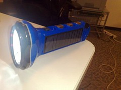 SunNight Solar Flashlight