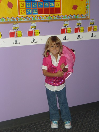 Karli's First Day of Preschool
