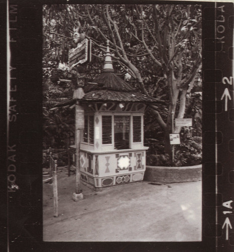 Disneyland Adventureland Ticket Booth, 1960s