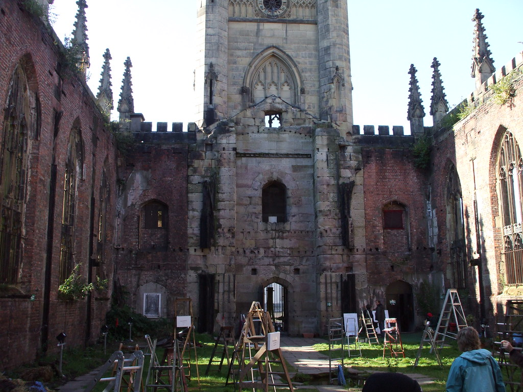 The Bombed out Church, Liverpool