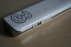 Huawei E160G - Antenna and MicroSD Card Slot