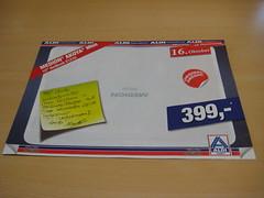 Aldi-Werbung zum Aldi Medion akoya Mini Netbook E1210