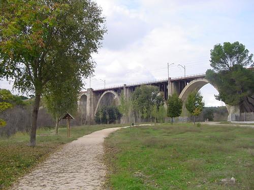ruta bici corredor ambiental manzanares