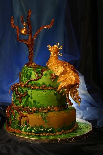My ( tandoori's) Firebird cake