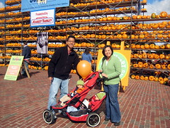 At the Pumpkin Festival