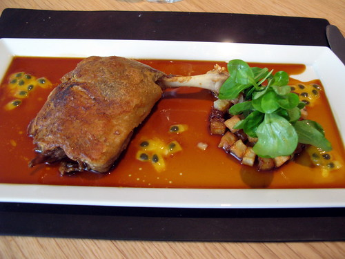 Duck Confit at the Modern Bar Room