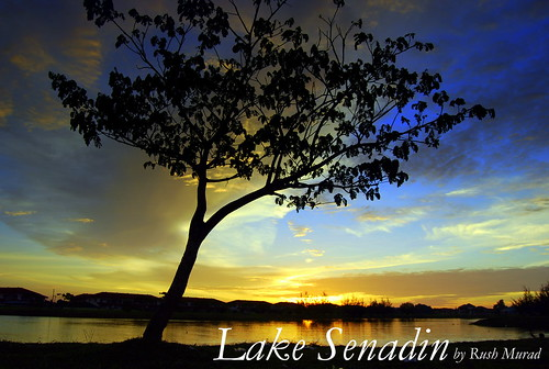 Sunset At Lake Senadin