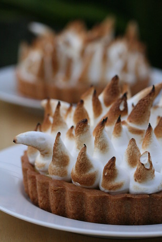 Yuzu Citrus Curd Meringue Pie