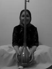 Negar  3tar-Portrait (نگين///Negin Kiani) Tags: bw girl iran mazandaran مازندران ساز موسیقیسنتی سیاهسفید دخترایرانی سهتار negarkiani neginkiani نگینکیانی نگارکیانی خواهرمن نگاریمن مازندرانی مازنیکیجا کیجا دخترمازندرانی