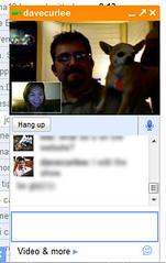 Talking on Google Talk Video