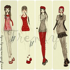 (Trendy W) Tags: fashion style trendy draws croqui