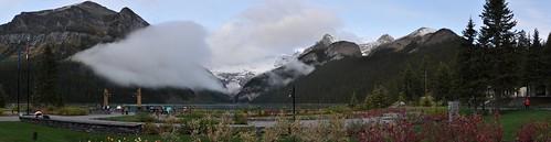 Lake Louise Morning Pano