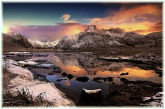 November (steinliland) Tags: sea mountain snow fjord lofoten lofotenislands kilan abigfave anawesomeshot colorphotoaward goldstaraward steinliland