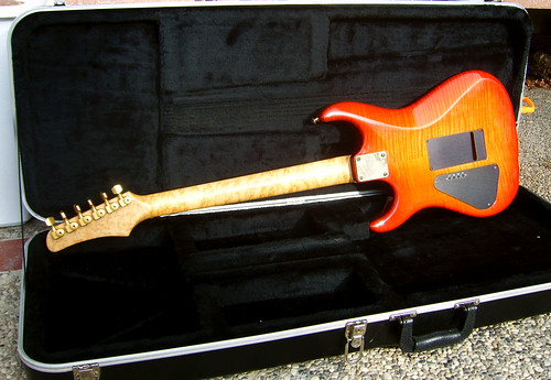 Hamer USA Vintage S back