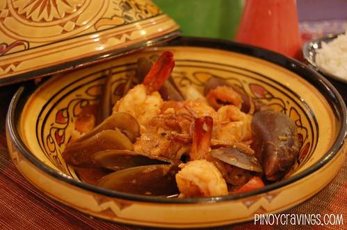 Kasbah Boracay Seafood Tangine