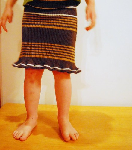 Recycled Sweater Skirt  by you.