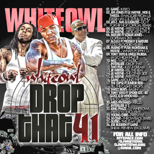 DJ Whiteowl White Owl Drop That 41