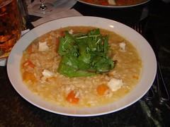 Pumpkin risotto at The Bon Vivant, Edinburgh