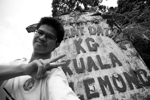 Me at Kg. Kuala Telemong