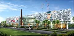 Front View - RMZ Galleria, Bangalore (g_gauri) Tags: india heritage retail mall shopping bangalore lifestyle luxury galleria rmz bengaluru rmzgalleria